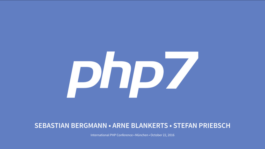 PHP 7 Day