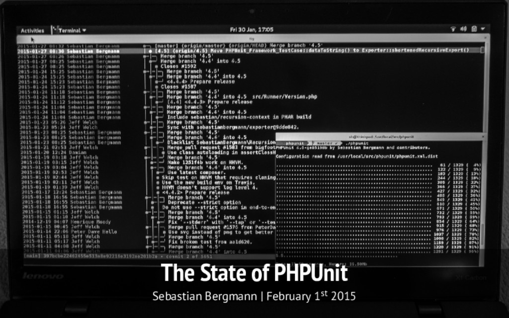 The State of PHPUnit