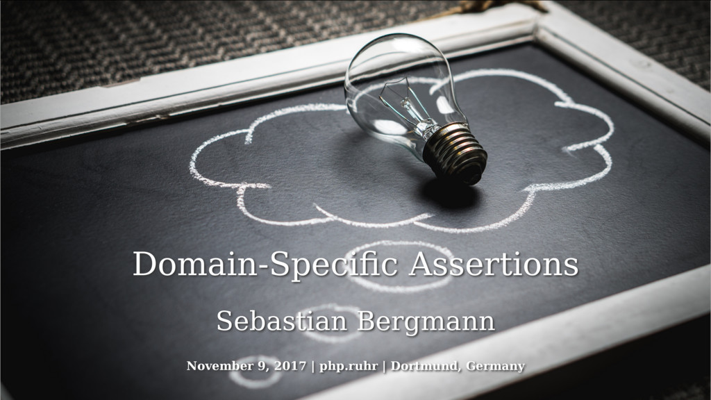 Domain-Specific Assertions